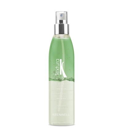 TEXTURA – Scented sublimating body dry oil & tonic – Triple Action – GREEN TEA